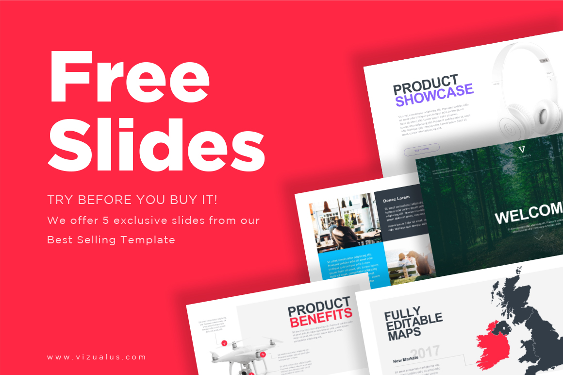 sella powerpoint template vizualus
