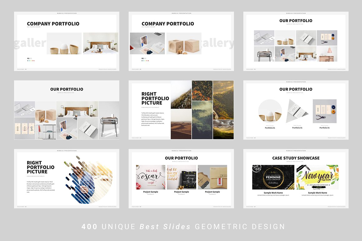 Home / Powerpoint Templates / Mark03 U2013 Powerpoint Template  Company Portfolio Template