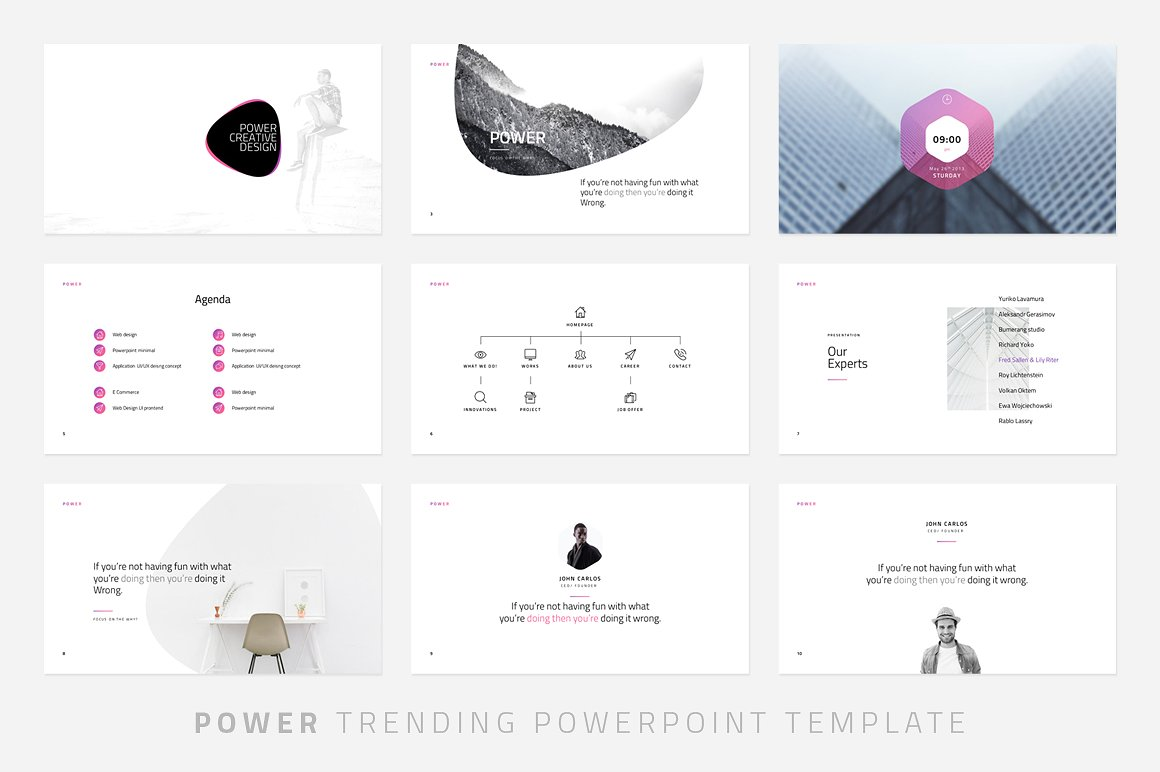 Power minimal powerpoint template vizualus home powerpoint templates power minimal powerpoint template toneelgroepblik Gallery