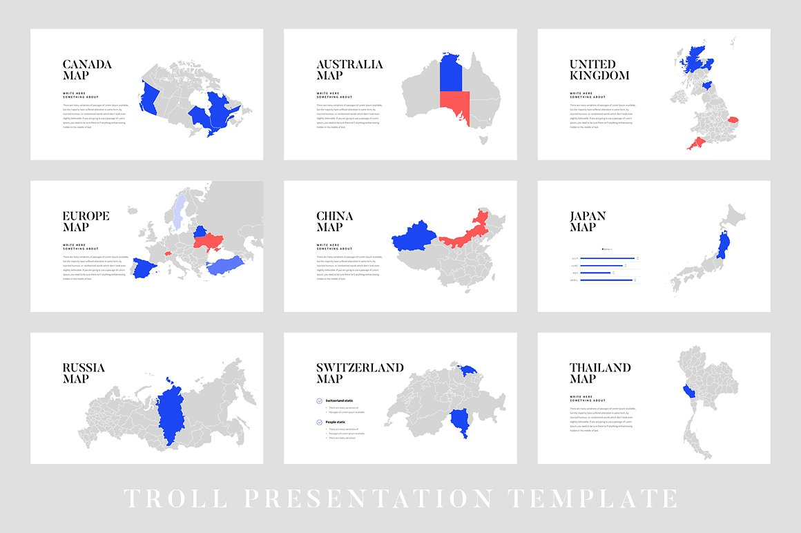 Troll powerpoint template vizualus home powerpoint templates troll powerpoint template toneelgroepblik Images